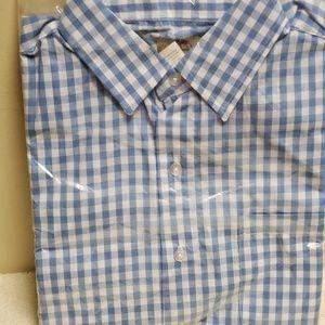 Other - Mens short sleeve dress shirt